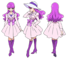 Kira Kira Pretty Cure Ala Mode Yukari pose