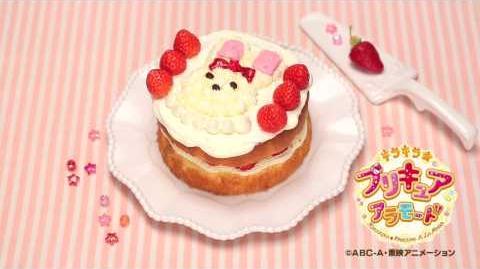 【アニマルスイーツレシピ】 うさぎショートケーキの作り方ムービー