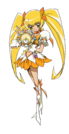 Heartcatch Pretty Cure Cure Sunshine hl pose