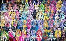 62 Pretty Cure Warriors with Fairies