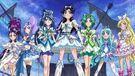 Pretty Cure All Stars DX3 Team White,Green & Blue