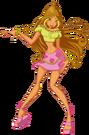 Winx Club Flora s1 pose3