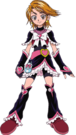 Pretty Cure Max Heart Cure Black pose