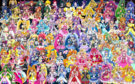 93 Pretty Cure Warriors with Fairies