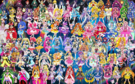 102 Pretty Cure Warriors with Fairies (Updated)