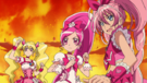Pretty Cure All Stars DX3 Cure Peach,Blossom and Melody