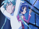 Sasami Mahou Shoujo Club Misao using her magic11