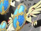 Gen'ei o Kakeru Taiyou Ginka with her shields