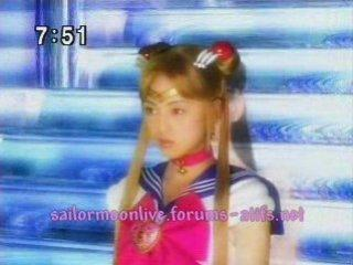 Pretty Guardian Sailor Moon - Princess Sailor Moon transformation
