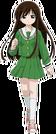 Fight Ippatsu! Juuden-chan! Hakone pose