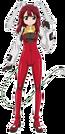 Fight Ippatsu! Juuden-chan! Plug pose