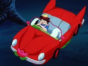 Hana no Mahou Tsukai Mary Bell Red Sports Car