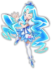 Heartcatch Pretty Cure! Movie Cure Marine pose