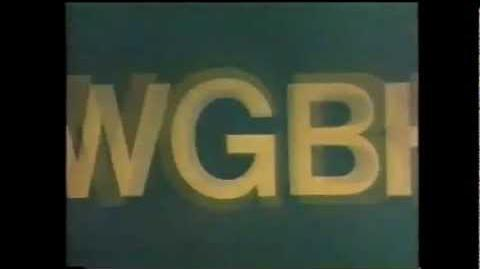 "WGBH Boston Logo ""Zooming WGBH"" (1972, Faded Blue Variant)"