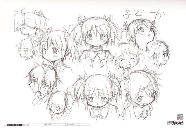 FileArtbook Madoka Drawing 4