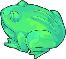 Mv gummy frog