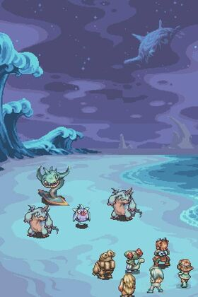 Granule island monsters