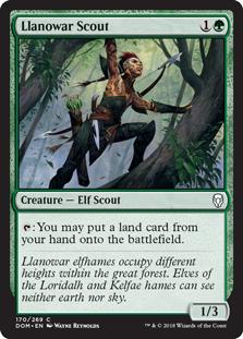 Llanowar Scout