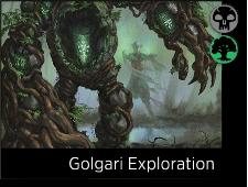 Starting decks Golgari Exploration