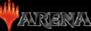 MagicArena logo dark