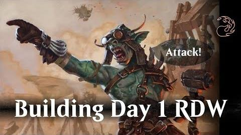 Magic Arena Open Beta Day 1 RDW deck building