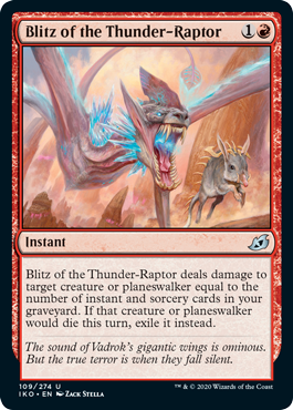 Blitz of the Thunder-Raptor