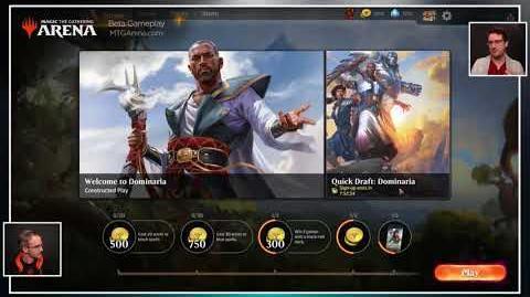 Magic The Gathering Arena Developer Stream – Dominaria Preview