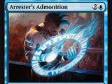 Arrester's Admonition