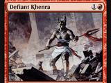 Defiant Khenra