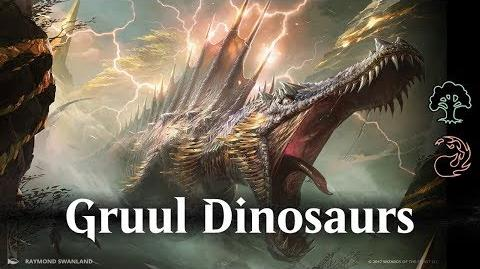 MTG Arena beta - Gruul Dinosaurs Ramp