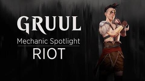 Gruul Mechanic Spotlight Riot