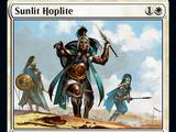 Sunlit Hoplite