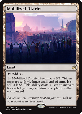 Mobilized District