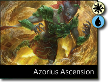 Starting decks Azorius Ascension