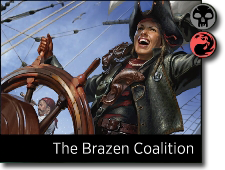 Starting decks The Brazen Coalition