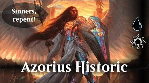MTG Arena beta - Azorius Historic (UW)