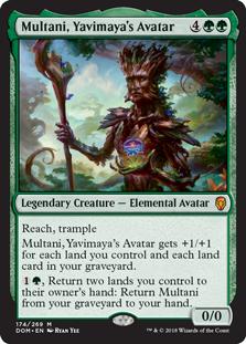 Multani, Yavimaya's Avatar