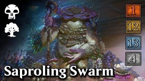 MTG Arena - Upgrading Saproling Swarm