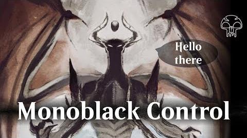 MTG Arena beta - Monoblack Control