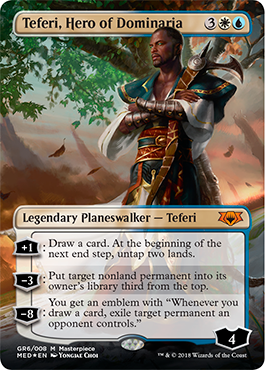 Teferi, Hero of Dominaria full art
