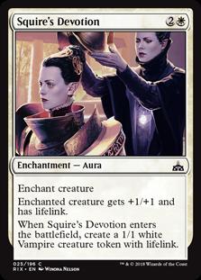Squire's Devotion