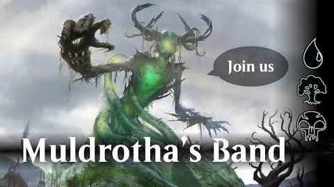 MTG Arena beta - Muldrotha's band (Sultai)