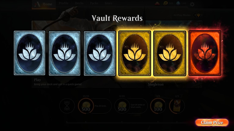 Vault | MagicArena Wiki | FANDOM powered by Wikia