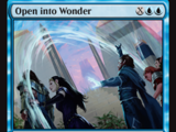 Open into Wonder