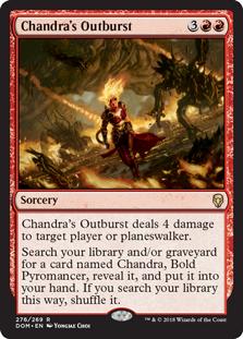 Chandra's Outburst
