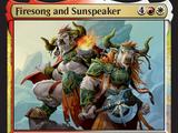 Firesong and Sunspeaker