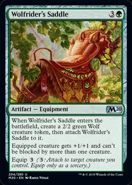 Wolfrider's Saddle
