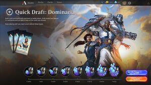 Quick draft menu DOM June 1 2018
