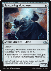Rampaging Monument