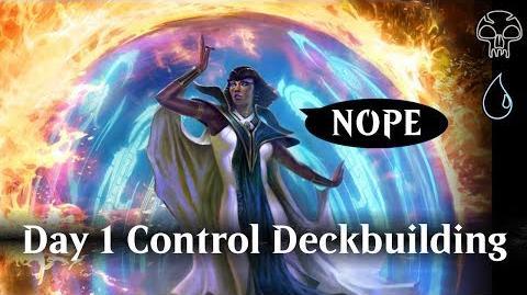 MTG Arena Day 1 Control deckbuilding